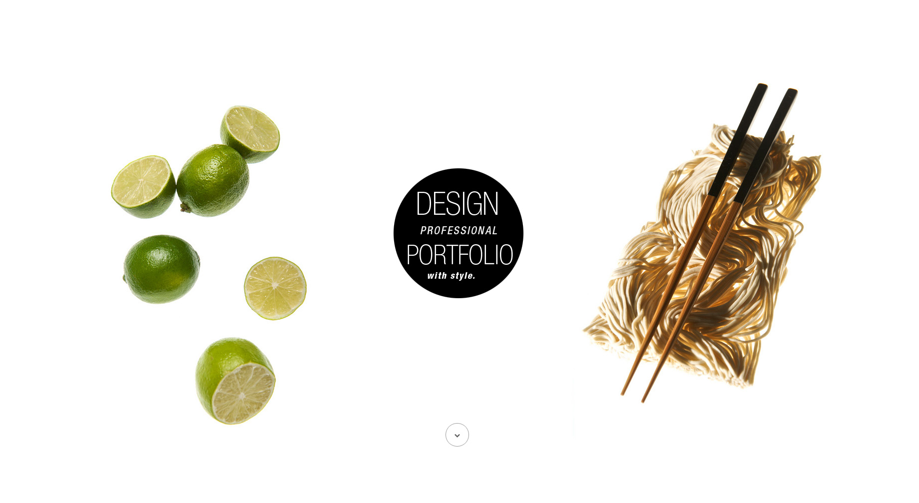 creative portfolio design media theme responsive wordpress - Portfolio Design Ideas