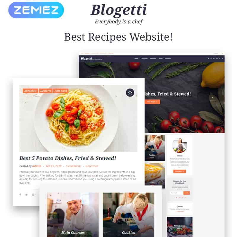 Blogetti - GPL WordPress Theme