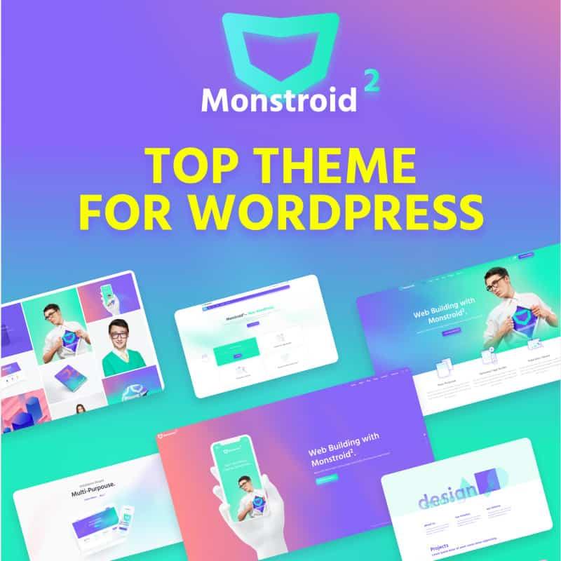 Monstroid2 - Multipurpose Modular Elementor WP Theme