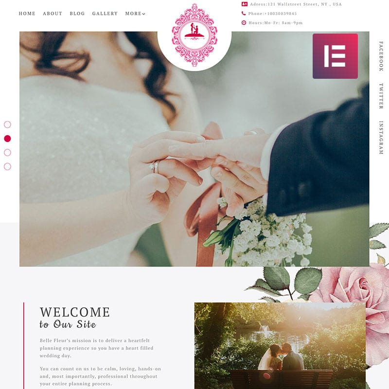 Tender Elementor Wedding Template Options You Shouldn't Miss