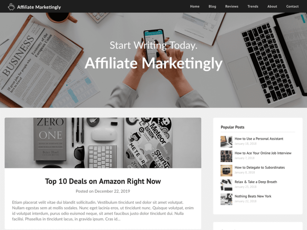 Affiliate Marketingly