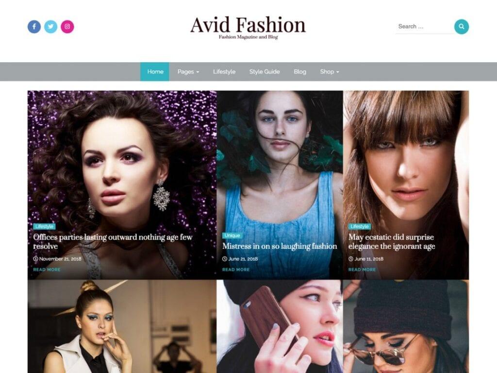 Avid Fashion