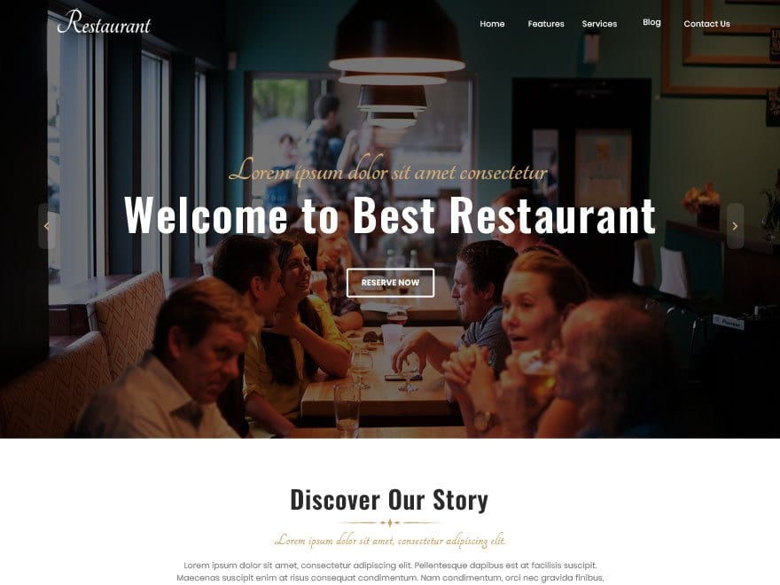 17+ Best Free Restaurant WordPress Themes (UPDATED 2020)
