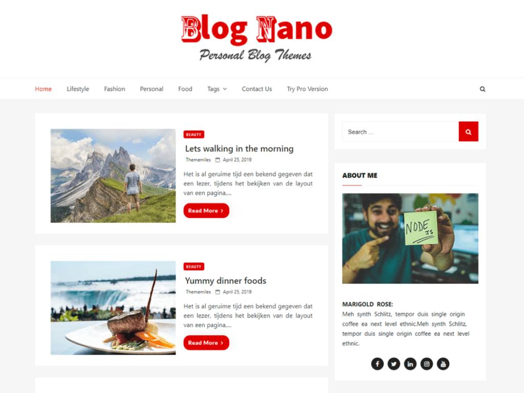 Blog Nano