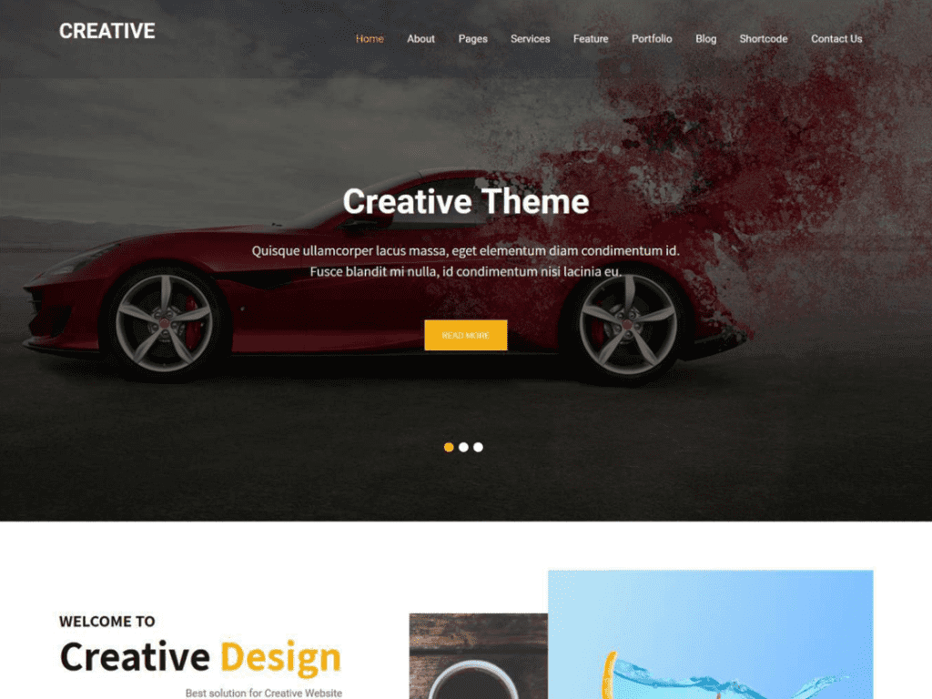 creative theme for modern artists