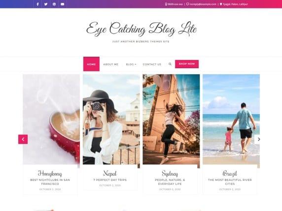 eye catching blog free