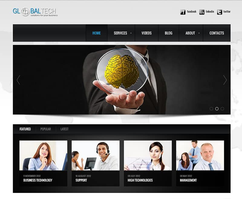 globaltech-free-wordpress-theme