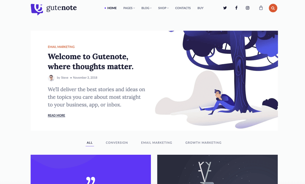 The 29 Best Gutenberg Compatible WordPress Themes (Most Popular 2021)