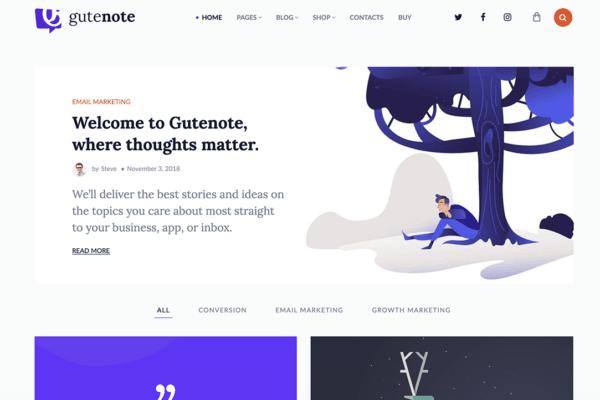 30+ Best Gutenberg Compatible WordPress Themes (UPDATED 2020)