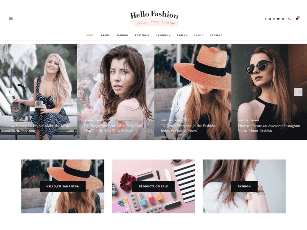 12 Best Free Fashion WordPress Themes (Most Popular 2021)