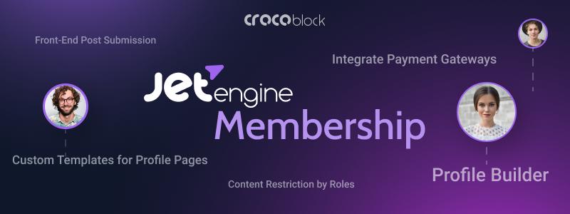 Jet engine membership plugin