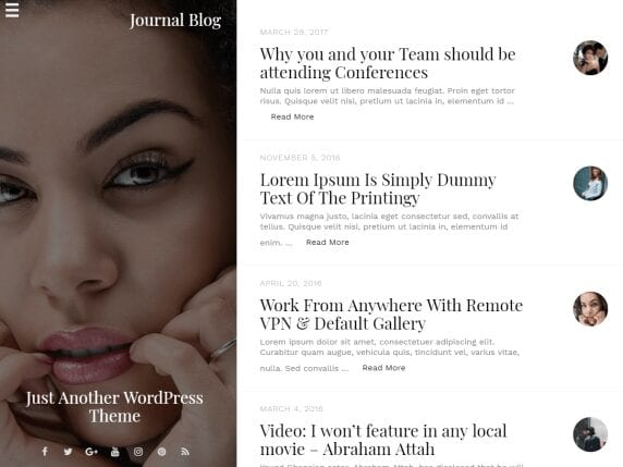 Journal Blog