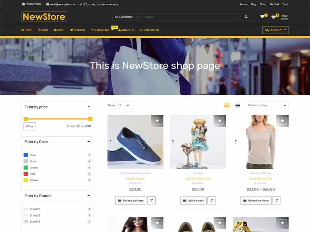 57 Best Free Woocommerce Wordpress Themes 2020