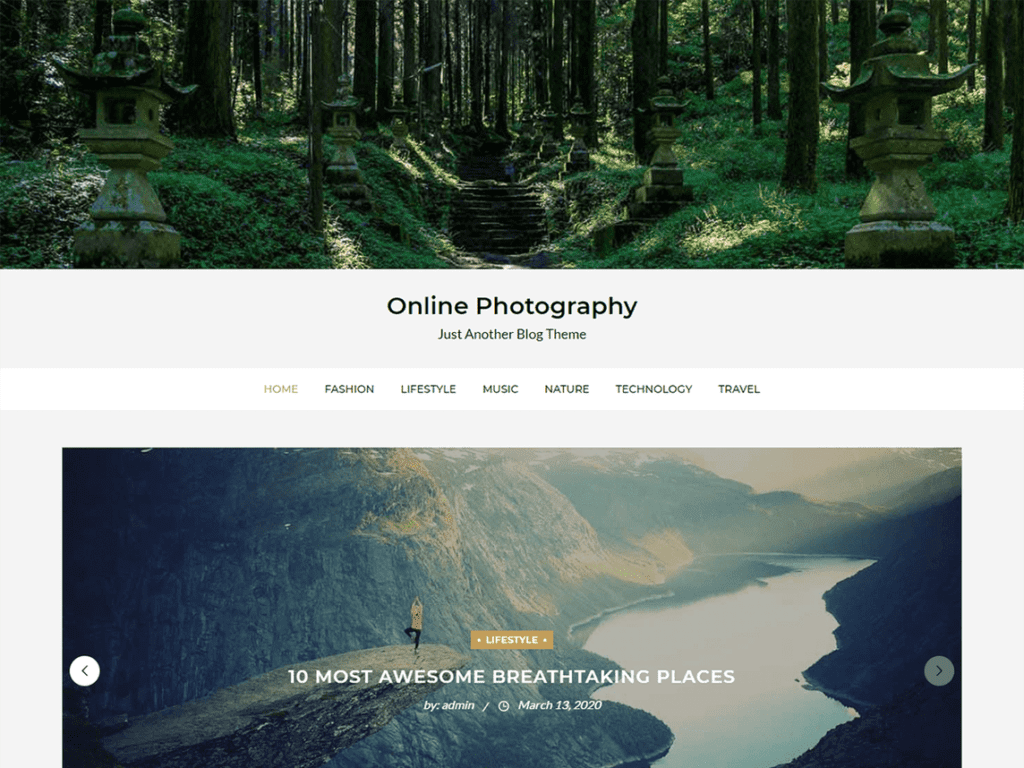 Online Photography
