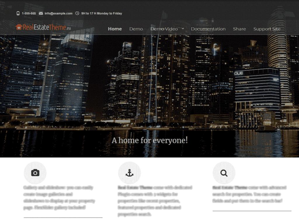 Real Estate Right Now free wordpress theme 2020
