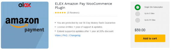 How to integrate Amazon Payment with WooCommerce?