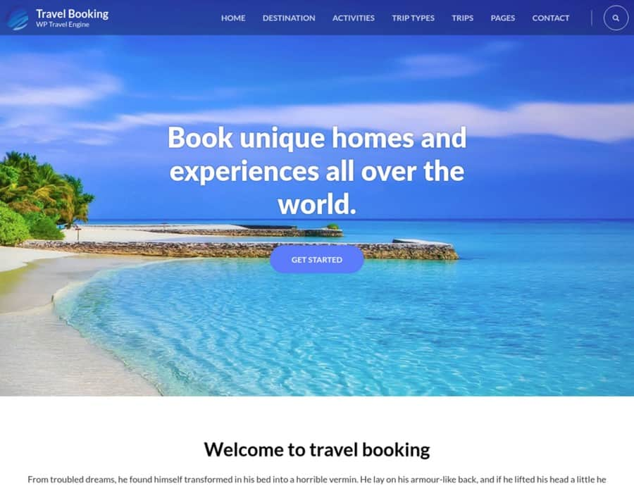 Travel Booking