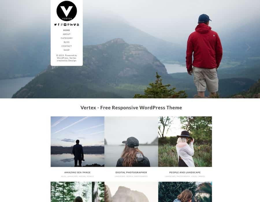 vertex theme free