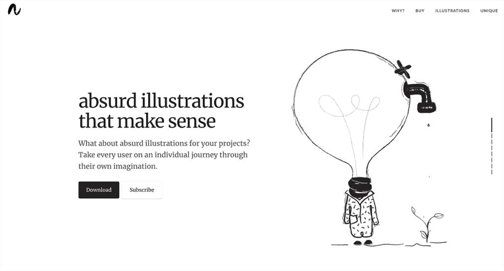 Abdurd - series of illustrations