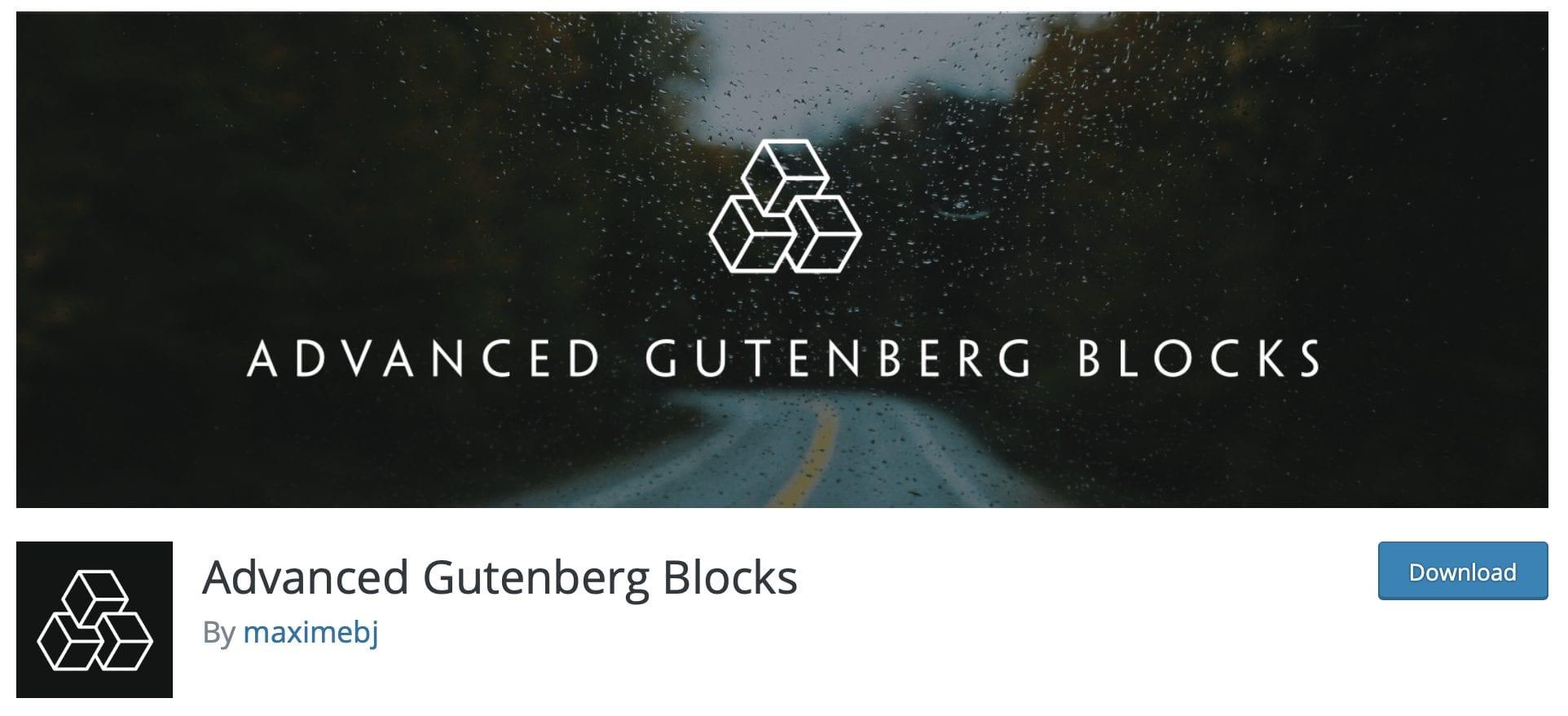 advanced blocks