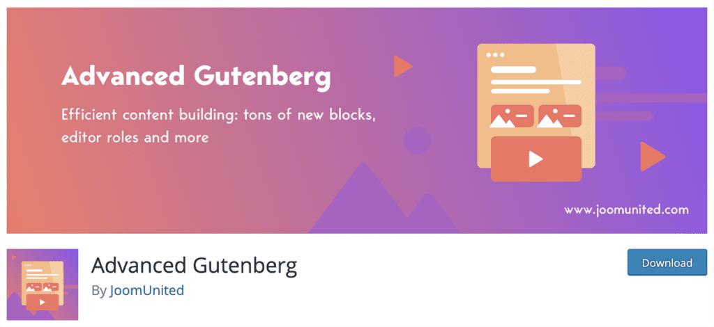 Advanced Gutenberg