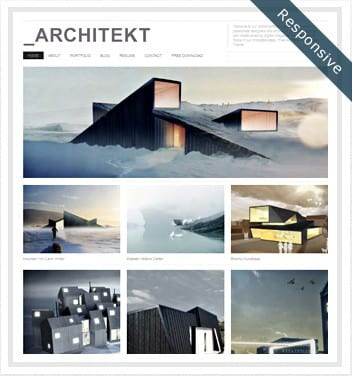 premium wordpress templates - architekt-theme1