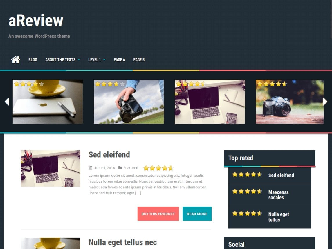 14 Best Free Review WordPress Themes Most Popular 2021