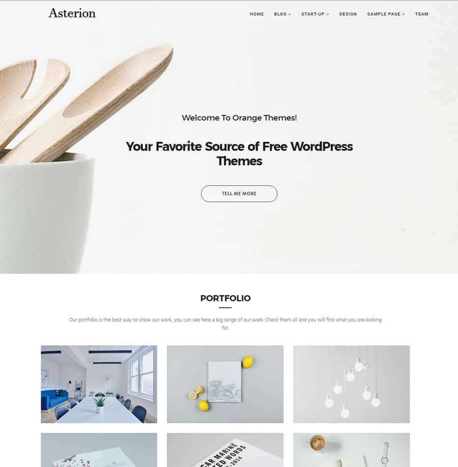 20 best free creative portfolio themes wordpress 2019