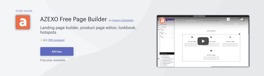AZEXO Free Page Builder