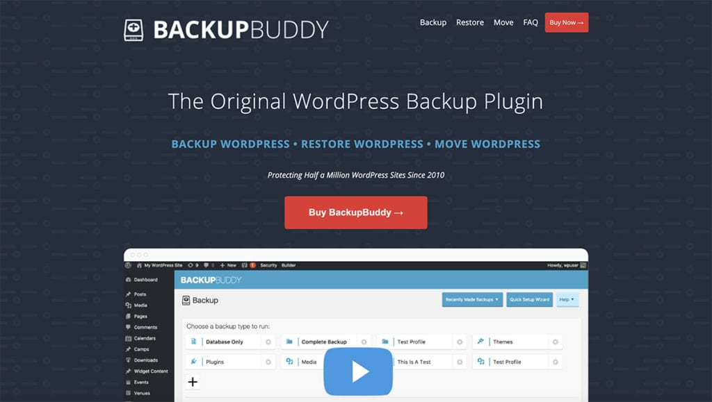 backupbuddy plugin wordpress