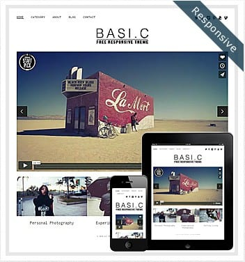 premium wordpress templates - basic-theme