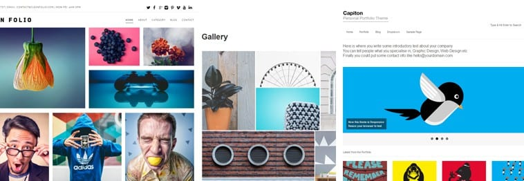20+ Best Portfolio WordPress Themes – 2019