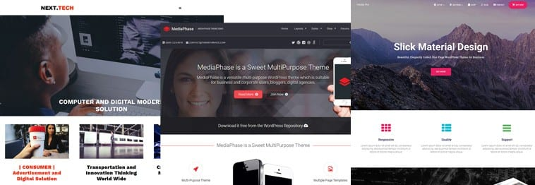 12+ Best Startups and Tech WordPress Themes 2019