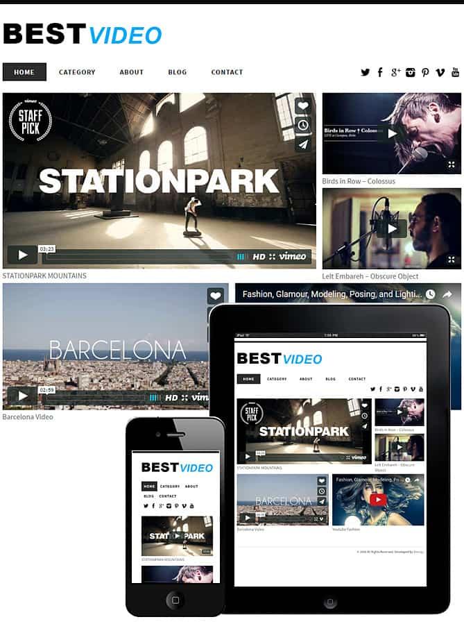Best Video Theme WordPress - Best WordPress Themes for Creatives ...