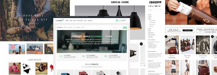 20+ Best Top WooCommerce (WordPress Themes 2019)