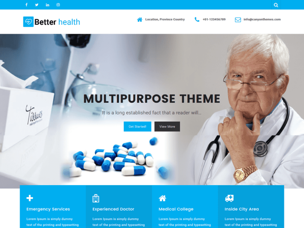 17+ Best Free Health and Medical WordPress Themes (UPDATED 2020)
