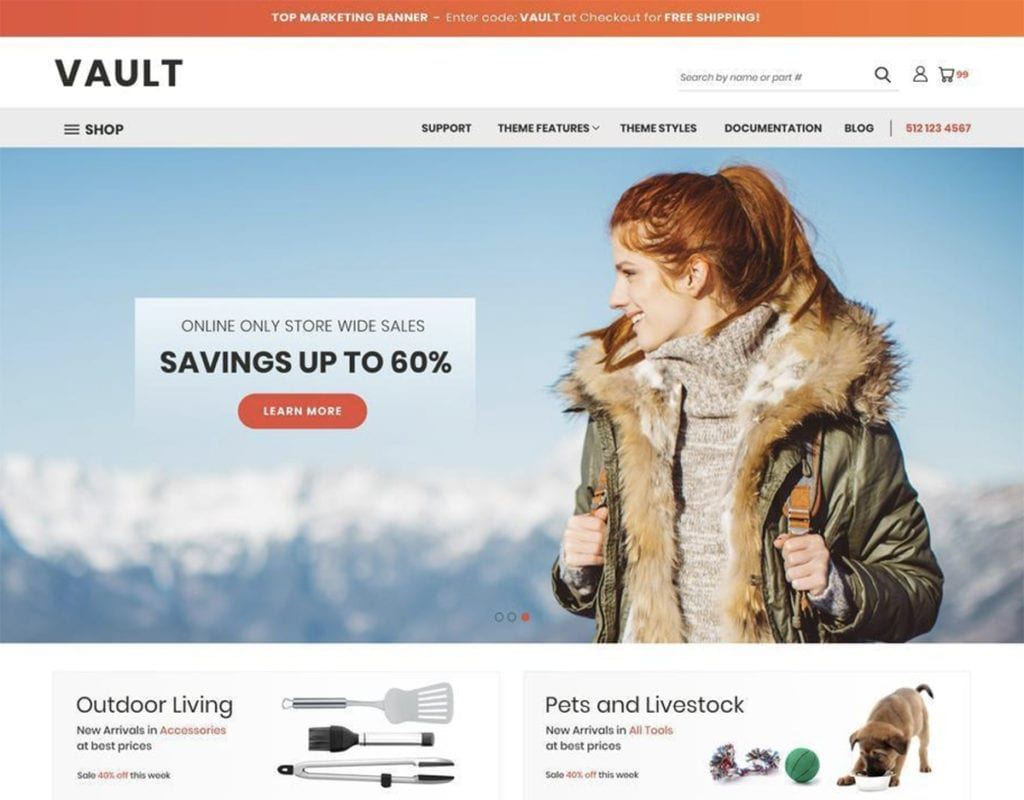 14+ Best Free BigCommerce Themes & Templates (UPDATED 2020)