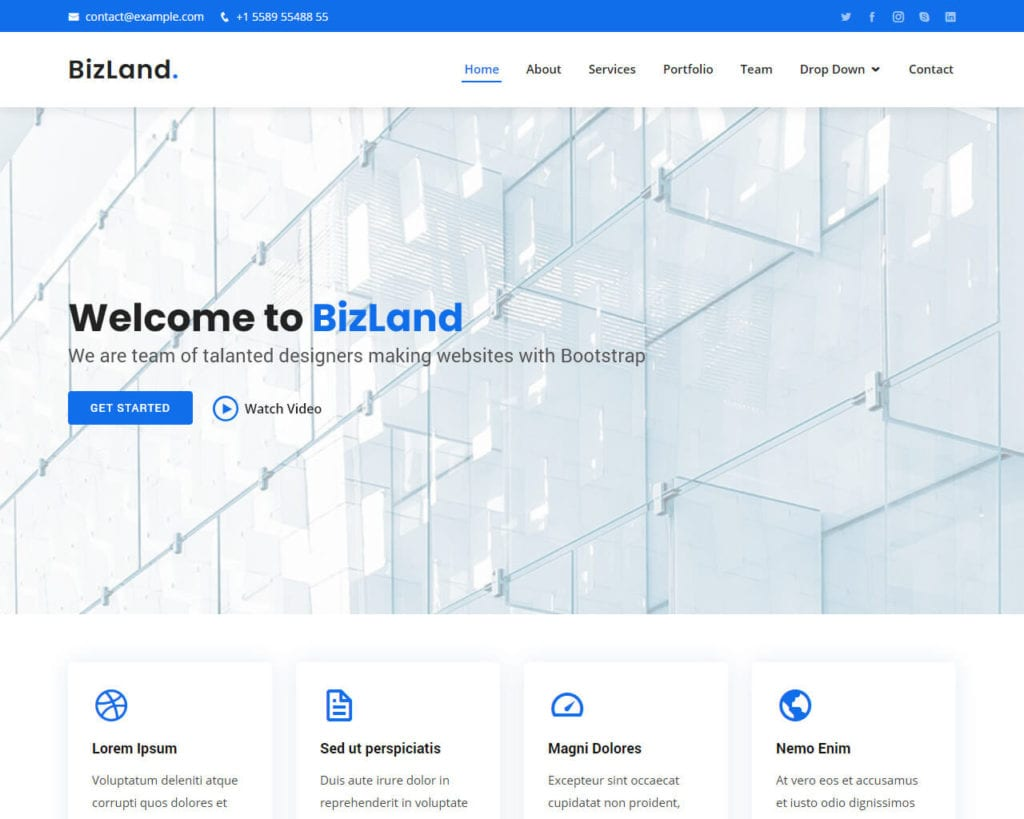 10+ Best Free Bootstrap Templates (Updated 2020)