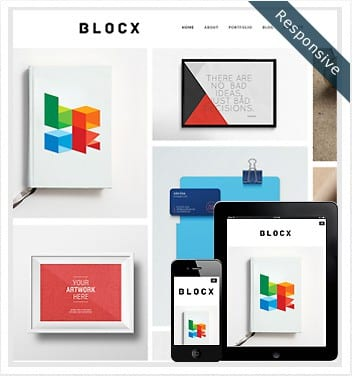 premium wordpress templates - blocx-theme