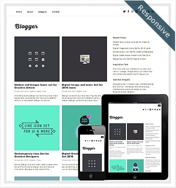 premium wordpress templates - blogger-theme