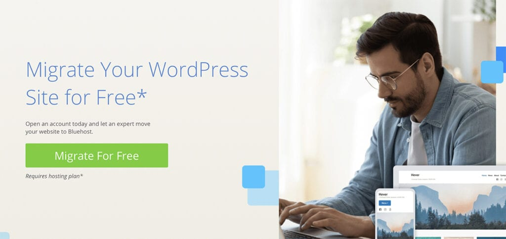 Bluehost Free WordPress Migration By Team of Experts (Updated 2020)