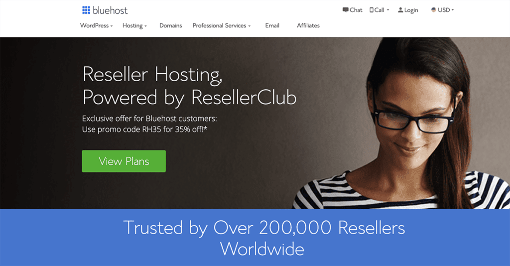 Bluehost reseller WordPress 2020