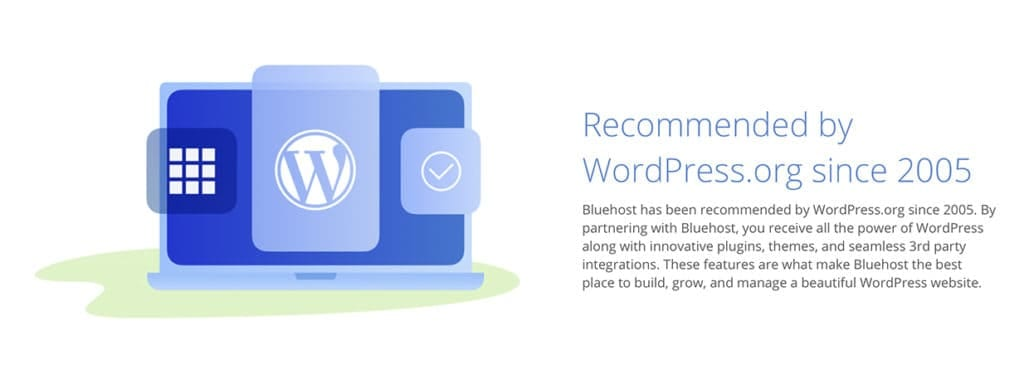 Recommended Shared WordPress Hosting since 2005