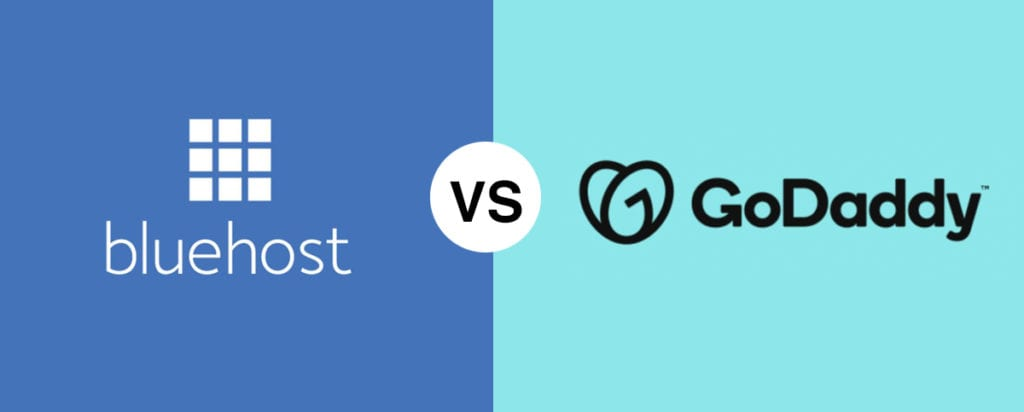 Bluehost vs GoDaddy comparison 2020