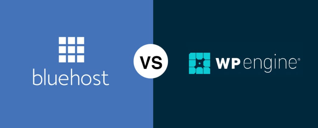 Bluehost vs WP Engine (2020 Comparison) The Best WordPress Hosting Provider