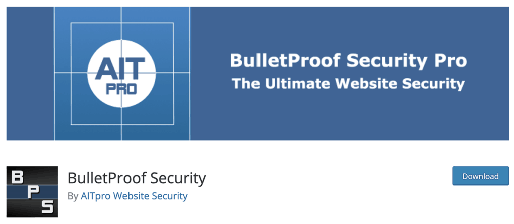 Bullet Proof Security