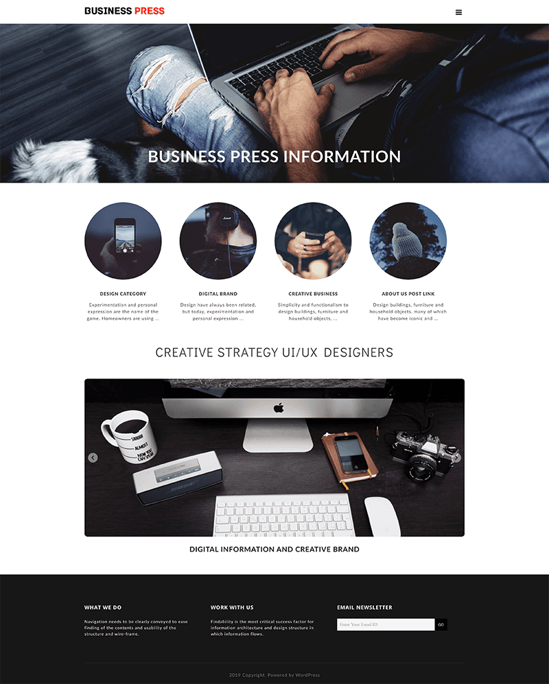 This image has an empty alt attribute; its file name is business-press-wordpress-theme.png