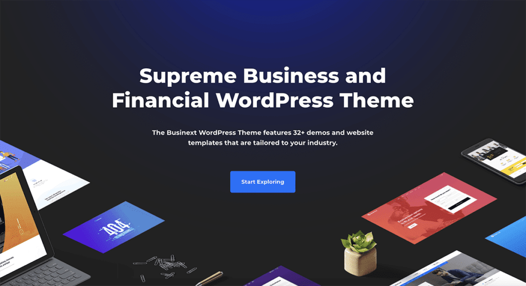 35+ Best Business WordPress Themes (UPDATED 2020)