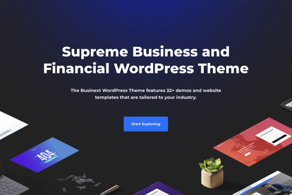 35+ Best Business WordPress Themes (UPDATED 2020)