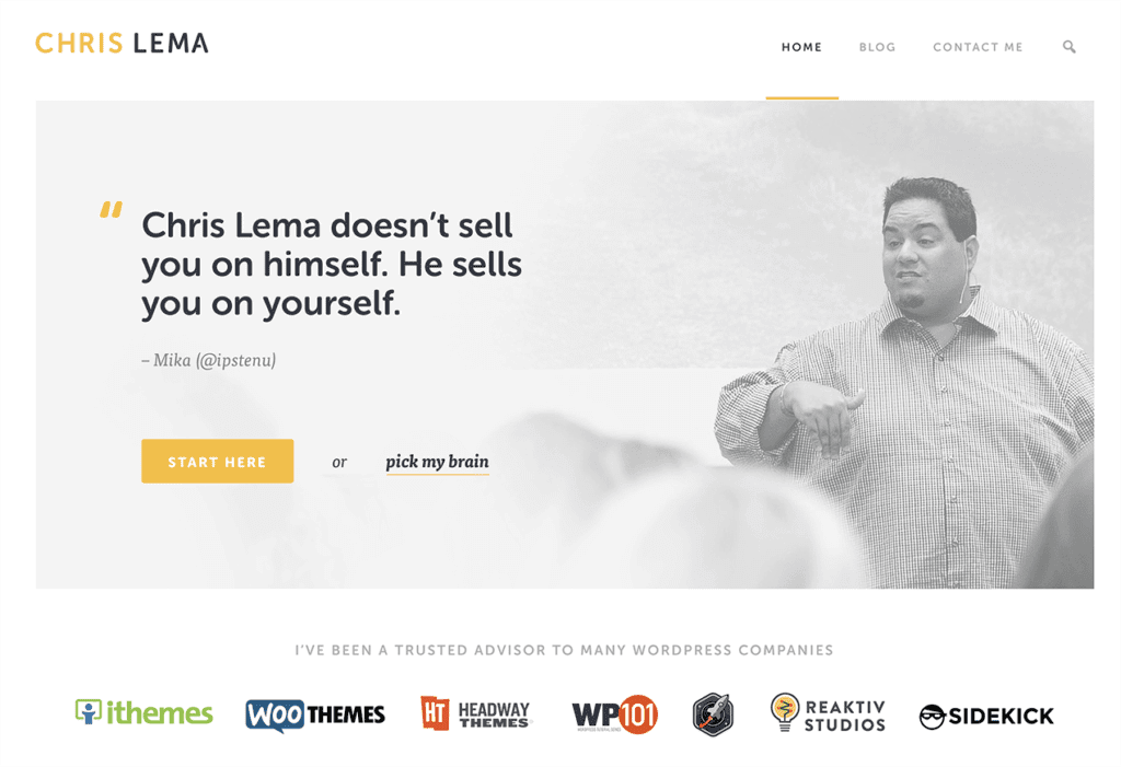 Chris Lema blog